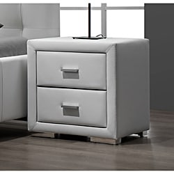 Sierra White Nightstand