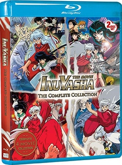Inuyasha The Movie: The Complete Collection (Blu-ray Disc) 10485477