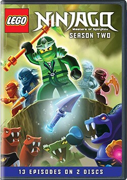 Lego Ninjago: Masters Of Spinjitzu Season Two (DVD) 10524859