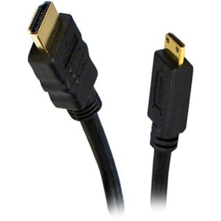 QVS High Speed HDMI to Mini HDMI with Ethernet 1080p HD Camera Cable