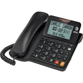 AT&T CL2940 Corded Phone with Caller ID/Call Waiting and Big Buttons,