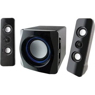 iLive IHB23B 2.1 Speaker System - Wireless Speaker(s) -Bluetooth - iPod Supported