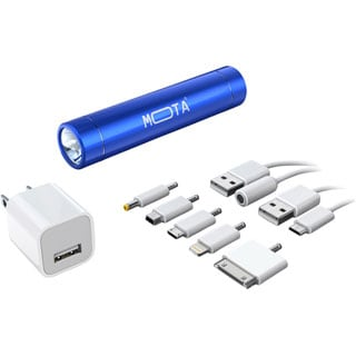 MOTA Battery Stick 2,600mAh Bundle Portable Power - Blue