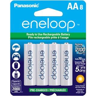 Panasonic eneloop Batteries (AA 8 Pk)