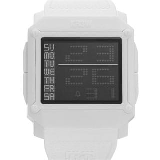KR3W Unisex Halo K1148W White Plastic Quartz Chronograph Watch