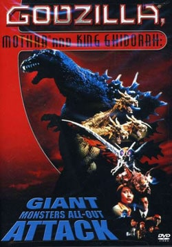 Godzilla, Mothra, and King Ghidorah: Giant Monsters All Out Attack (DVD)