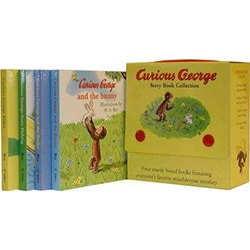 Curious George by H. A. and Margret Rey (Board Books)