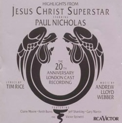 Original London Cast - Jesus Christ Superstar [Highlights: the 20th Anniversary London Cast/14 Tracks]