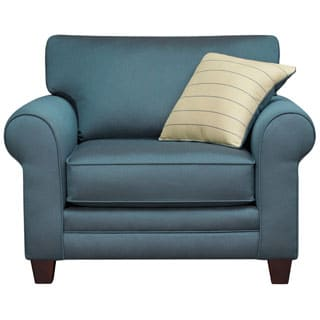 Art Van Calypso Teal Green Chair
