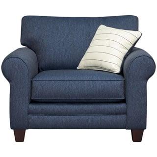 Art Van Navy Blue Calypso Chair
