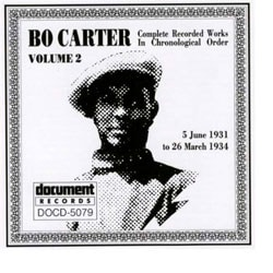 Bo Carter - Complete Recorded Works Vol. 2 (1931-34)