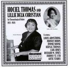 Hociel Thoma/Lillie Delk Christian - Complete Recorded Works In Chronological Order (1925-28)