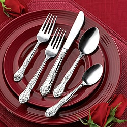 Rogers Co. Stainless Steel 40-piece Flatware Set