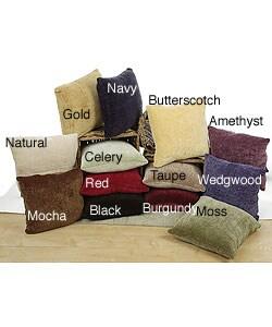 Chenille Throw Pillows (Set of 2)