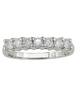 14k White Gold 1/2ct Round Diamond Wedding Ring (G-H/ I1-I2)