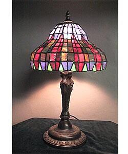 Tiffany-style Decora Table Lamp