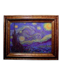 Overstock - Van Gogh Starry Night Canvas Collection - $165.99