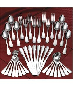 Rogers 18/8 Stainless 45-piece Old Boston Flatware