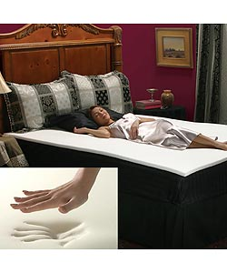 Memory Foam 1-inch Mattress Topper