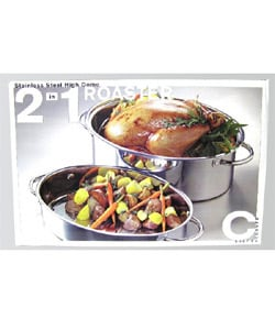 Two-in-one Stainless Steel Roaster