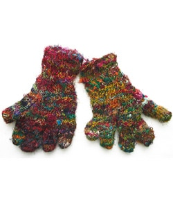 Recycled Silk Gloves (Nepal)