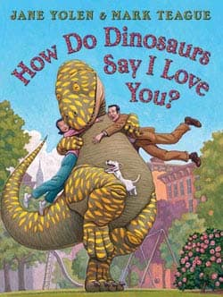 How Do Dinosaurs Say I Love You (Hardcover)