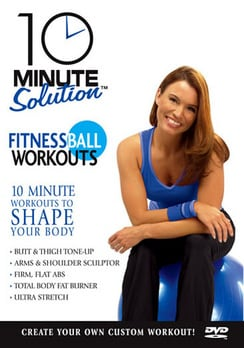 10 Minute Solution: Fitness Ball Workouts (DVD)