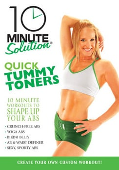 10 Minute Solution : Quick Tummy Toners (DVD)