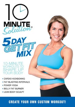 10 Minute Solution - 5 Day Get Fit Mix (DVD)