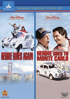Herbie Rides Again/Herbie Goes To Monte Carlo - 2-Disc Set (DVD)