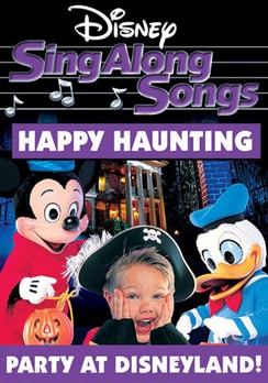 Disney's Sing Along Songs - Happy Haunting: Party at Disneyland (DVD)