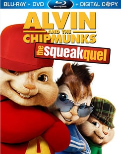 Alvin and the Chipmunks: The Squeakquel - Includes Digital Copy (Blu-ray/DVD)