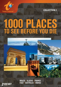 1,000 Places to See Before You Die: Collection 1 - 2-Disc Set (DVD)