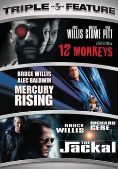 12 Monkeys/Mercury Rising/Jackal Triple Feature (DVD)