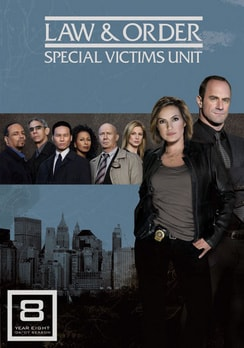 Law & Order: Special Victims Unit - The Eighth Year - 5-Disc Set (DVD)