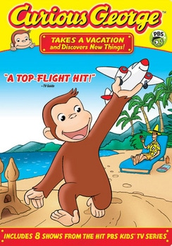 Curious George: Takes a Vacation and Discovers New Things (DVD)
