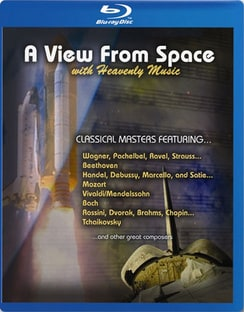 A View from Space w/Heavenly Music (Blu-ray Disc)