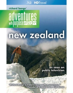 Richard Bangs` Adventures with Purpose: New Zealand - Quest for Kaitiakitanga (Blu-ray Disc)