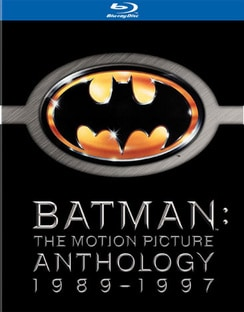 Batman: The Motion Picture Anthology 1989-1997 (Blu-ray Disc)