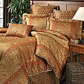 Amsterdam Chenille Three-piece Throw Pillow Set : Home Decor from Overstock.com :  amsterdam pillow burgandy mocha