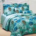 Bahamas Aqua Microfiber 3-piece Comforter Set