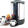 Stainless Steel 40-cup Thermal Layer Coffee Brewer