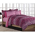 Pink 'Wild One' Twin-size Bed in a Bag