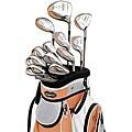 Adams A305 Tangerine Complete Golf Set