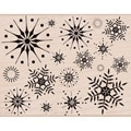 Hero Arts 'Stunning Snowflakes' Wood Stamp