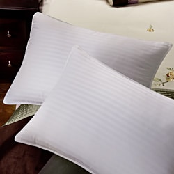 Tommy Bahama Damask Stripe 650 Fill Power French Down Pillow