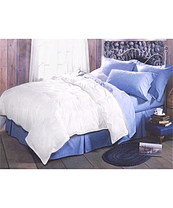 White 240 Thread Count Feather Comforter