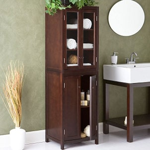How to Select Bathroom Cabinets