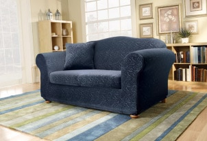 How to Put a Slipcover on a Sofa