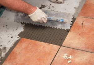 How to Tile Over a Leveled Wood Floor